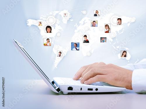 Symbol of social network