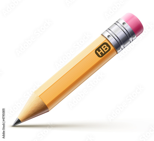 Yellow pencil - 47950811