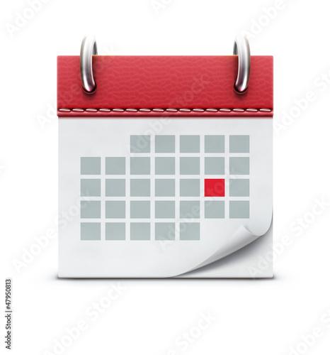 Calendar icon - 47950813