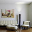 Modern Room with Artwork I (focused)