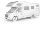 Camper (isolated white)