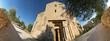 Sant'Antimo, facciata dal basso