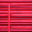Red metal Shop or Factory outlet Shutter