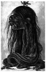Jivaro : Shrunken Head - Tête Réduite - Schrumpfkopf_1874