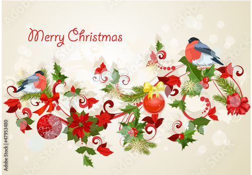 Design a Christmas greeting card