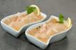 Duo de cassolette homard noix saint Jacques