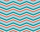 Seamless chevron pattern. Zigzag background poster