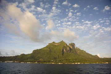Mount Pahia & Mount Otemanu, Bora Bora, French Polynesia