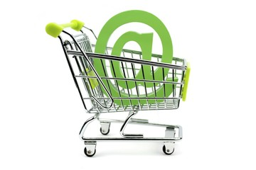 e-mail sign in shopping cart