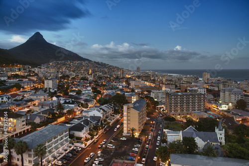 Staande foto Afrika City of Cape Town
