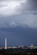 Heavy clouds over Washington