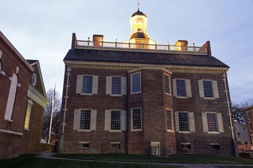 The Old State House in Dover