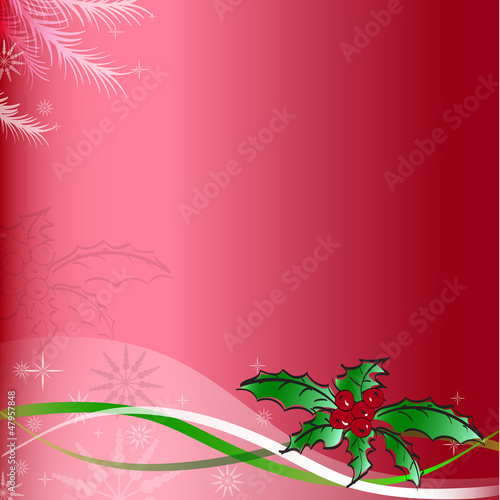 Christmas and happy New year background