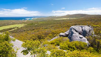 View from Moneky Rock near Denmark Western Australia