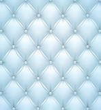 Blue vector upholstery leather pattern background.