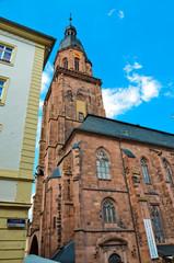 Heidelberg, campanile di una chiesa 1