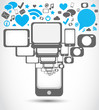 social media mobil phone applications