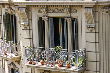 House balcony Barcelona