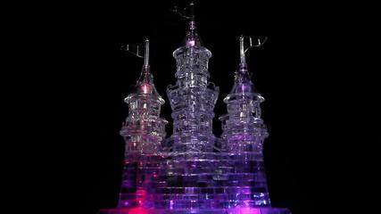 Lighting castle