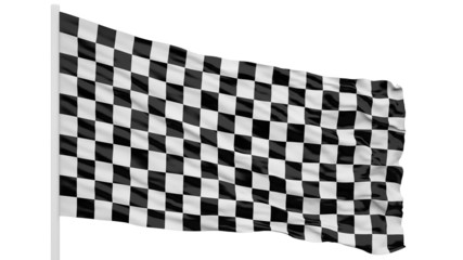 Looping of the checker flag