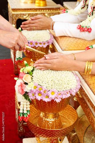 Thail Wedding ceremony