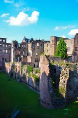 Heidelberg, rovine del castello 3