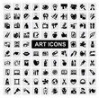 art Icons set - 47971299