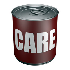 Care - Tin can