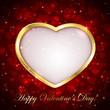 Sparkling valentines background