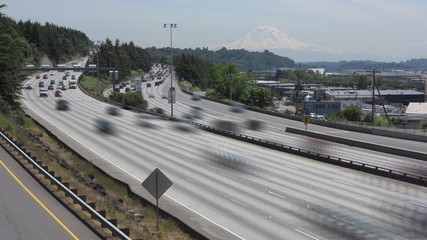 Seattle Highway Traffic