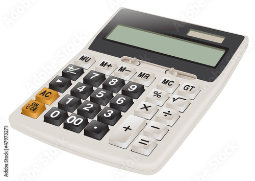 Calculator realistic