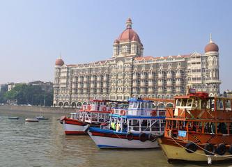 Taj Mahal Hotel, Mumbai, India.