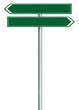 Right left road route direction pointer this way sign green