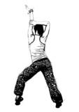 aerobics pose