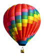 canvas print picture - hot air balloon isolated