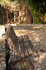 panchina solitaria