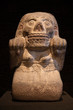 Statue of Cihuateotl. Aztec. Mexico.
