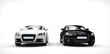 Black And White Business Cars