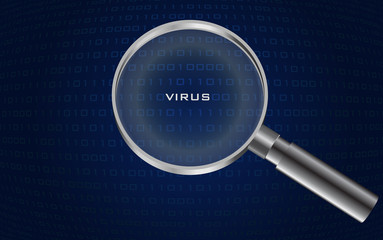 system virus detected , vector