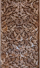 Wall Carving, Alhambra