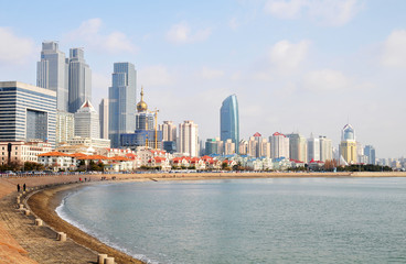 Qingdao seaside panorama