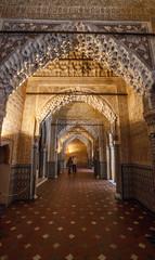 Wall Motif, Nasrid Palace, Alhambra, Spain