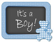 It's a Boy!    Baby Teddy Bear Bulletin Board Announcement