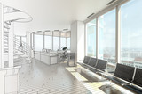 Penthouse Office I (drawing) - 47986846