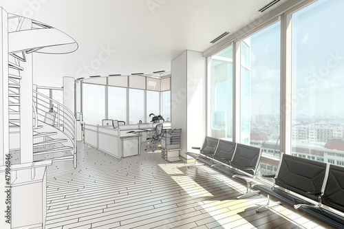 Penthouse Office I (drawing)