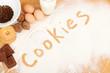 Written in flour - cookies