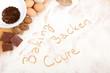 Written in flour - baking, backen, cuire