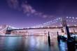 pont de new york de nuit