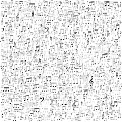 Musical background, vector