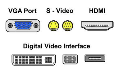 video ports, vector